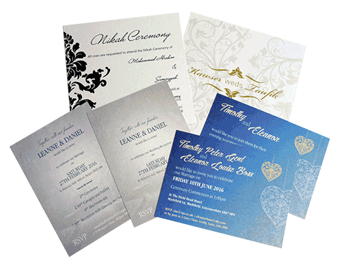 Invitation card printing flexpress leicester invitation card printing stopboris Choice Image
