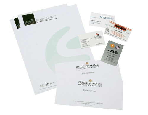 Printed stationery starter bundle flexpress leicester printed stationery starter bundle images equal quantity of business cards reheart Gallery