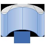 3x2 - Panels: 673mm x 2225mm