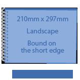 A4 - 210mm x 297mm