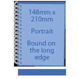A5 - 148mm x 210mm