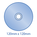 Standard CDs/DVDs